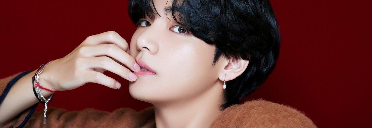 V de BTS se ubica en la cima de las estrellas coreanas con los fans más activos en China