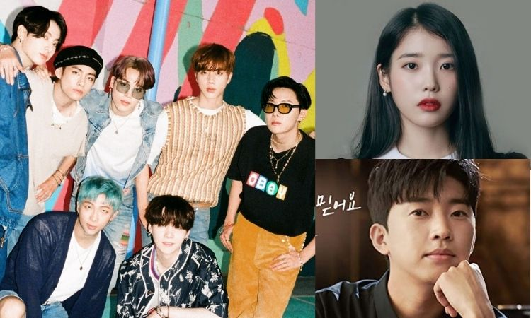 Ranking mensual: BTS, IU y Lim Young Woong son los cantantes más populares de febrero