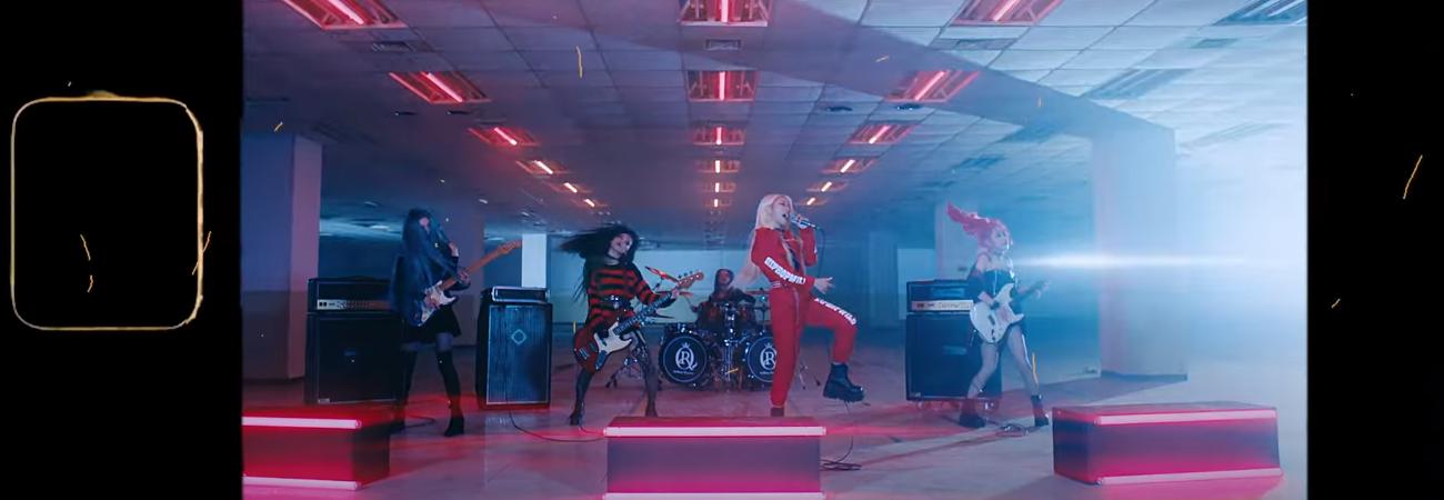 'Blaze', MV debut de Rolling Quartz llega a las 450 mil reproducciones