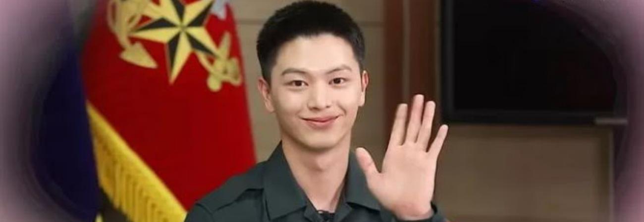 Yook Sungjae de BTOB envía un cálido mensaje a sus fans desde el ejército