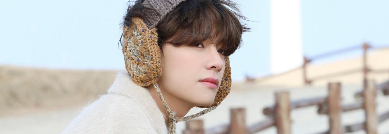 V de BTS encanta a netizens con su apariencia en 'BTS Winter Package'