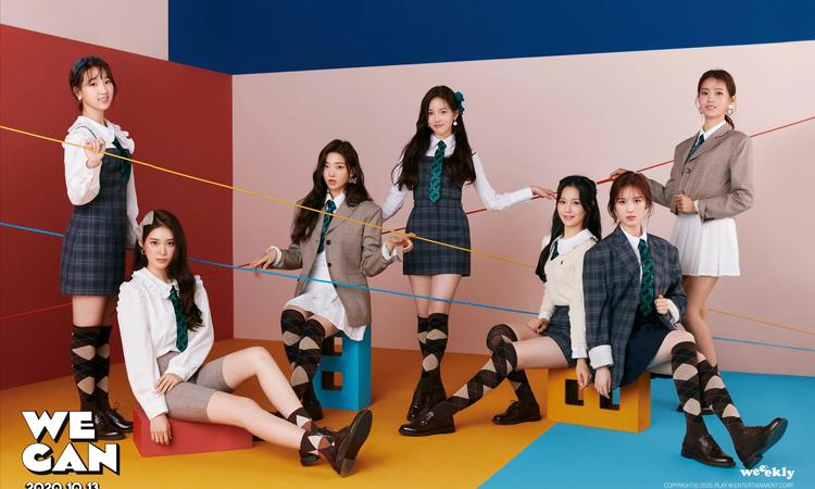 Weeekly muestra su calendario de comeback titulado We Play