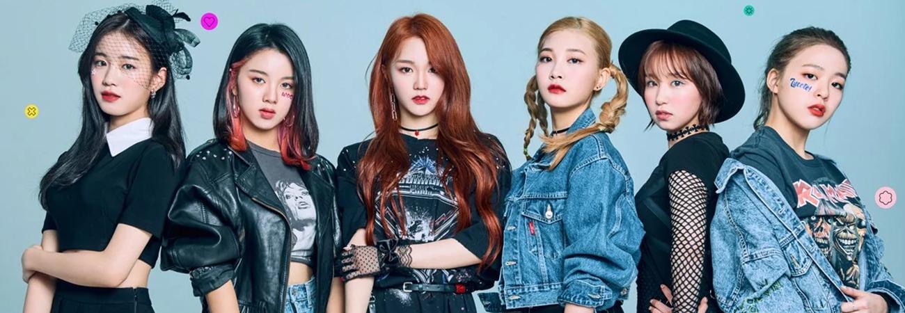 El grupo rookie Woo!ah! supera el millón de seguidores en TikTok