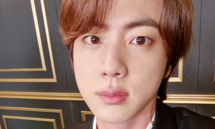 ¡Quién necesita un Grammy cuando puedes tener este rostro!: Jin de BTS