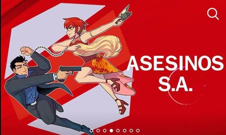 Hablemos de webtoon: Asesinos S.A.