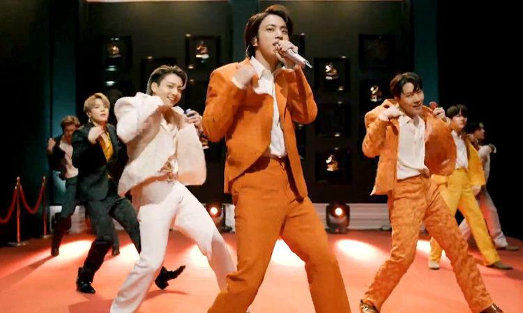 Jin de BTS se vuelve tendencia en los Grammys como