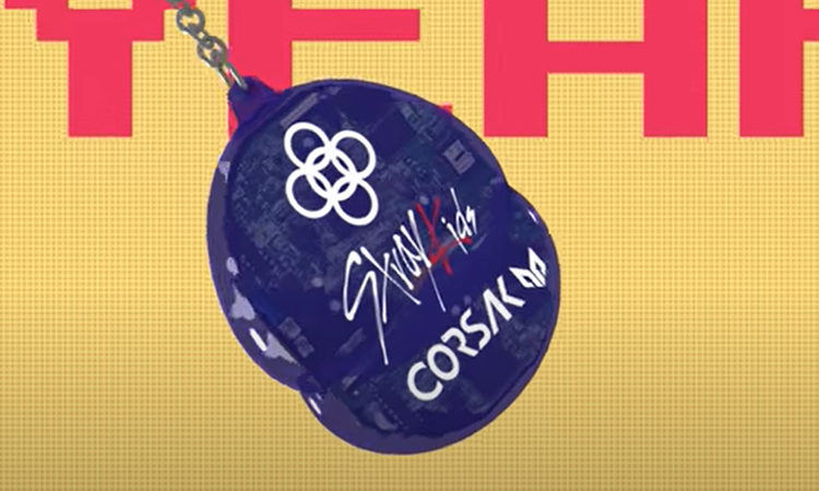 Stray Kids , Alesso & CORSAK muestran un ritmo pegajoso en su MV lyrics de Going Dumb