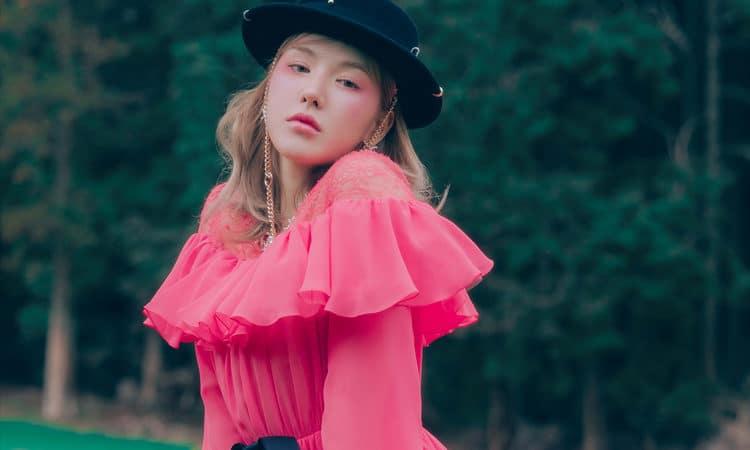 Wendy de Red Velvet disfruta de la naturaleza en sus fotos para Like Water