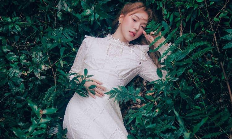 Wendy de Red Velvet se une a la naturaleza en sus fotos teaser de Like Water
