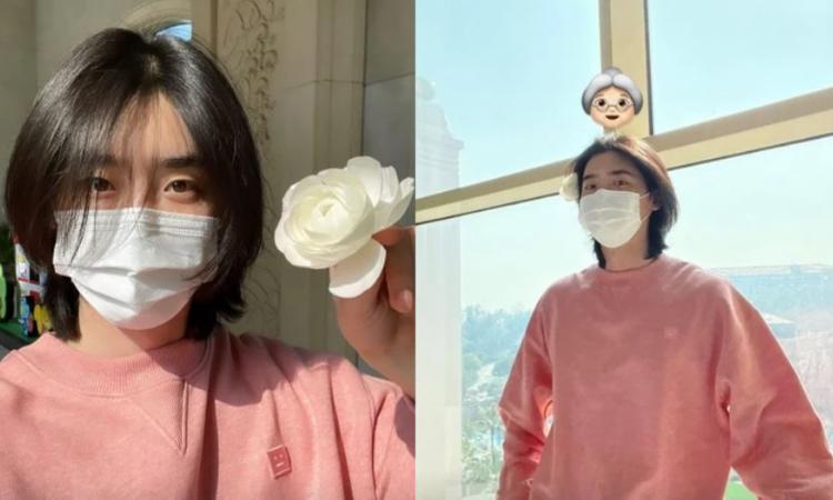 Netizens reaccionan al cabello largo de Lee Jong Suk