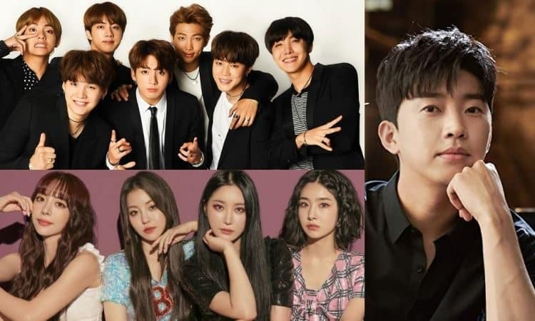 BTS, Brave Girls y Lim Young Woong