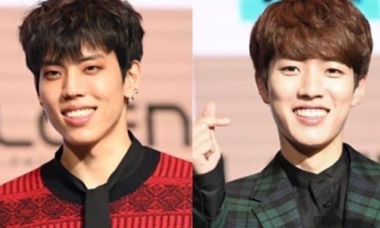 Dongwoo y Sungyeol de Infinite