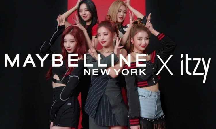 ITZY x Maybelline
