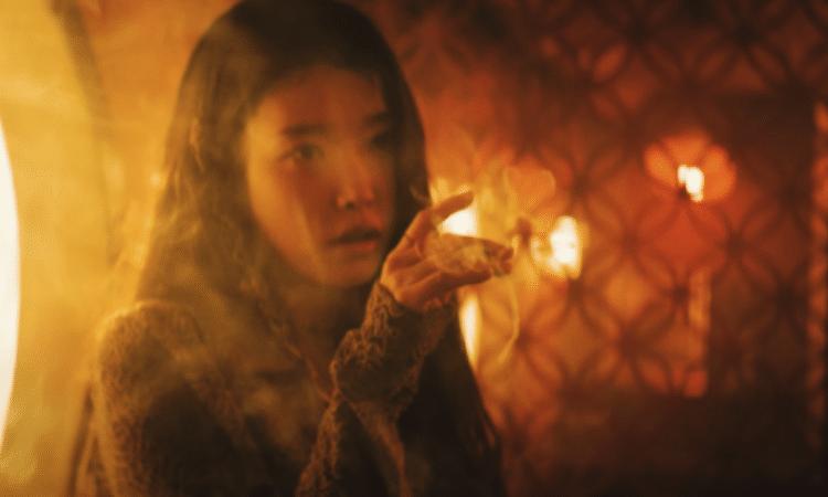 IU emite una vibra melancólica en el teaser epílogo de 'LILAC'