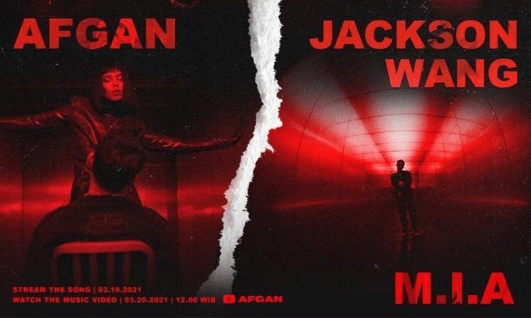 Jackson de GOT7 y Afgan lanzan teaser de su colaboración 'MIA'