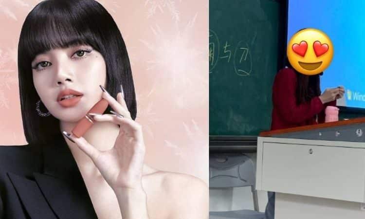 Lisa de Blackpink y profesora en China