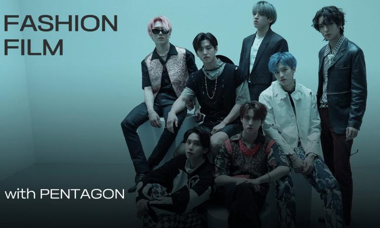 Esquire Korea libera un video con PENTAGON para el especial de moda 'Into the Blue'