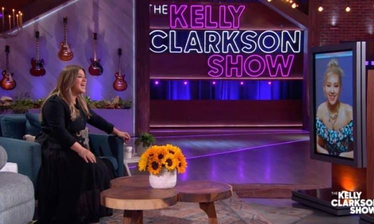 Rosé en el show de Kelly Clarkson