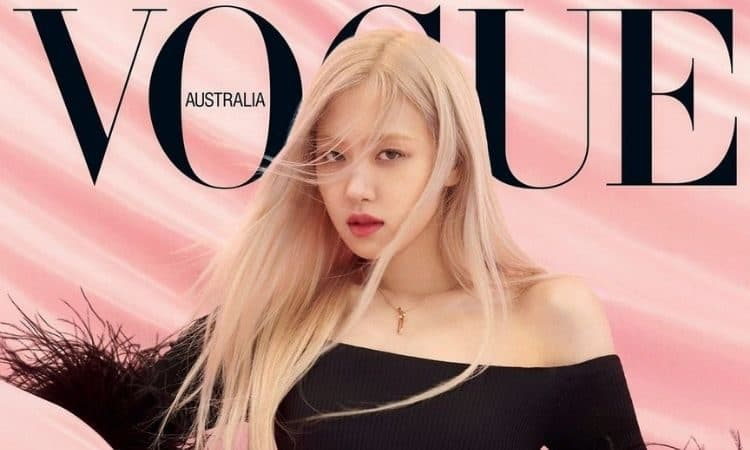 Rosé de Blackpink para Vogue Australia