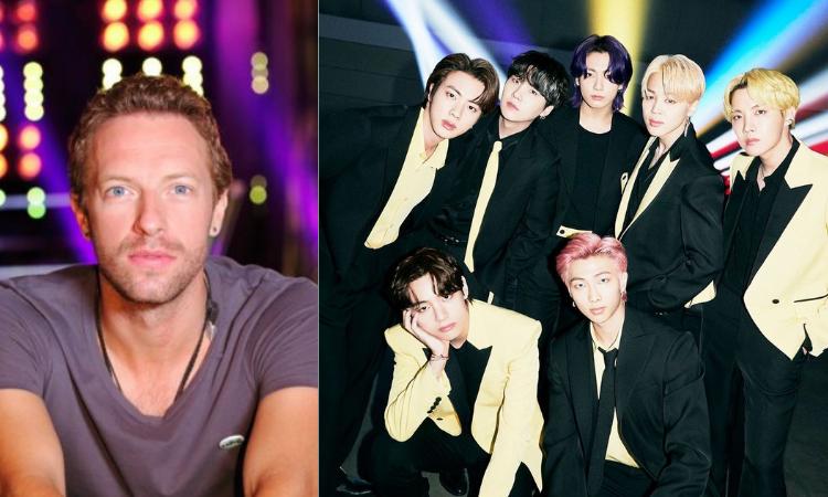 Chris Martin de Coldplay recomienda la canción 'Butter' de BTS