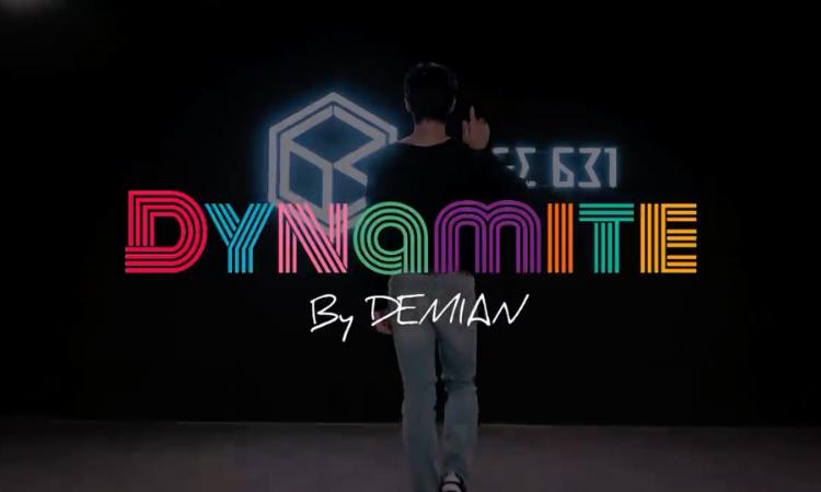Demian conquista a sus fans con un dance cover de 'Dynamite' de BTS