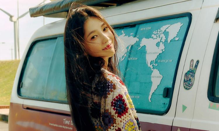 Joy de Red Velvet disfruta de un viaje por carretera en nuevos teaser para 'Hello'
