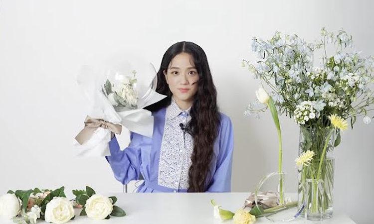Jisoo de BLACKPINK elige su flor favorita y es perfecta para ella