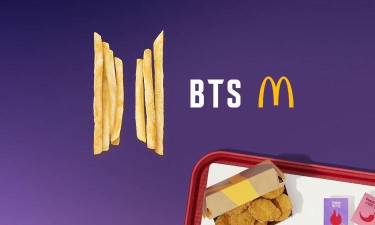 Se filtran las bolsas de Mcdonalds que se usaran en el BTS MEAL