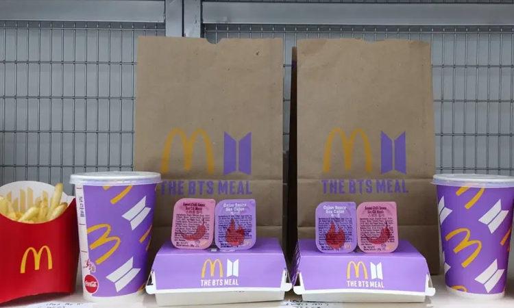 Esto es lo que recibirá BTS con su colaboración con el BTS MEAL de McDonald's