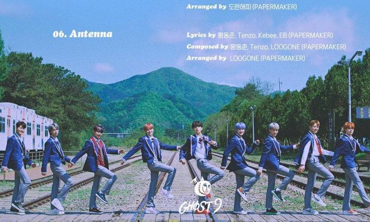 Ghost9 presenta el impresionante tracklist para su mini álbum NOW: When we are in Love