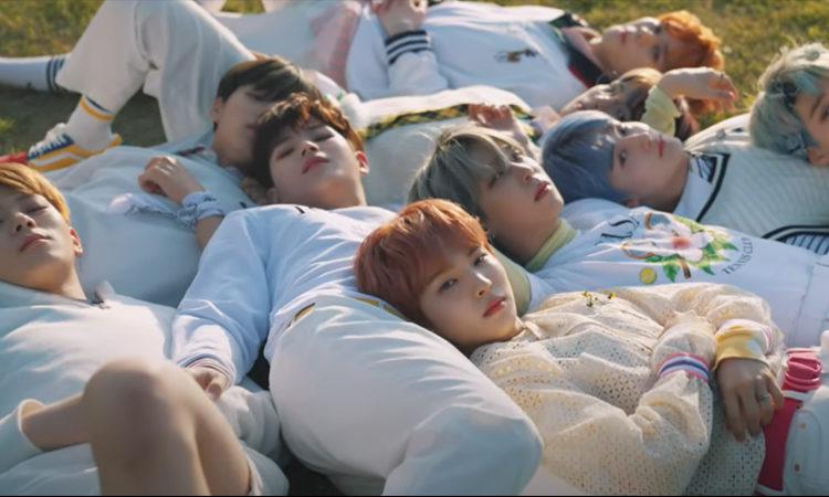 Ghost9 pasa un hermoso día de verano en 'When We Are in Love'