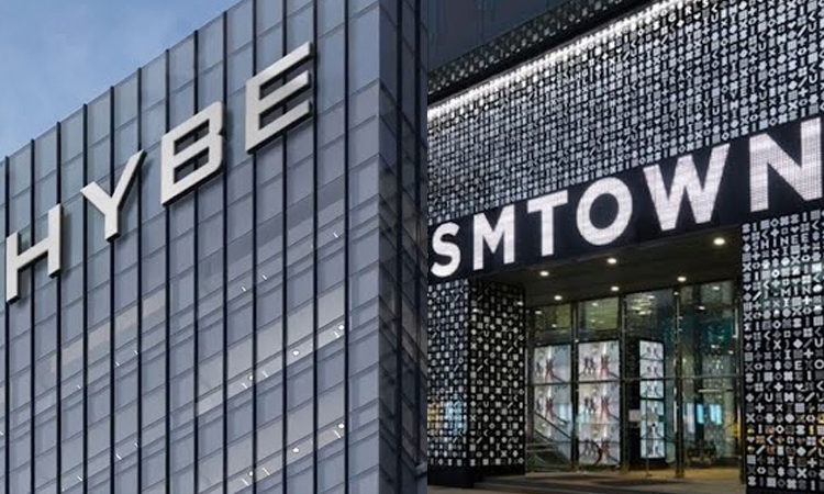 HYBE consideraban previamente la adquisición de acciones de SM Entertainment