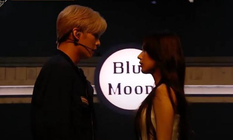Minhyuk de BTOB y Miyeon de (G) I-DLE generan pánico al casi besarse durante su actuación en 'Kingdom' de Mnet