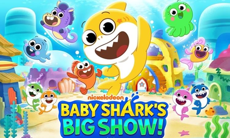 La caricatura coreana 'Baby Shark's Big Show' será transmitida en todo el mundo