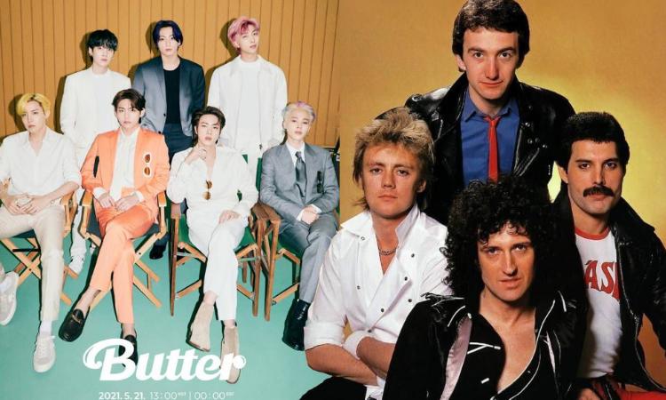 BTS aclara que 'Butter' no está inspirada en Queen, ¡Pero están abiertos a una colaboración!