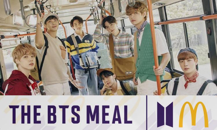 McDonald's presenta el horario oficial para el lanzamiento de 'The BTS Meal'
