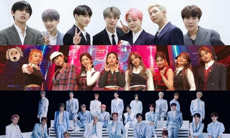 BTS, Twice y NCT