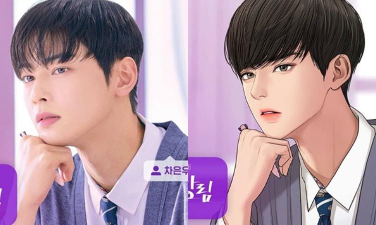 Cha Eun Woo y su perfecta adaptación de personajes webtoon