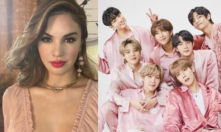 A antiga rainha da beleza filipina se refere à BTS como