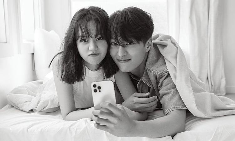 Jang Ki Yong y Hyeri de Girl's Day posan juntos para la revista 1st Look