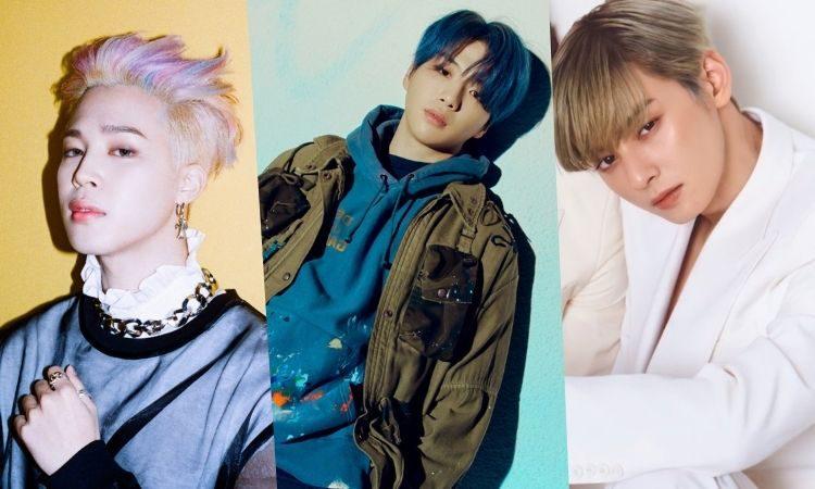 Jimin de BTS, Kang Daniel y Cha Eun Woo de ASTRO