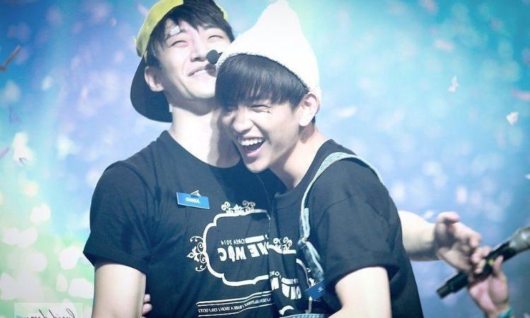 Junho de 2PM y Jinyoung de GOT7