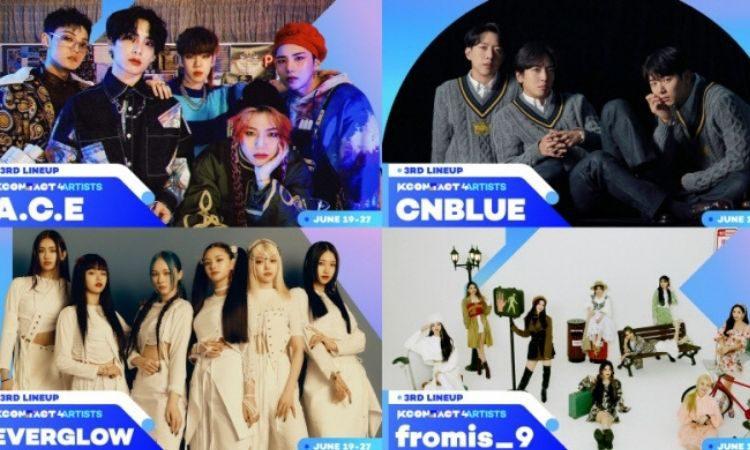KCON:TACT 4U artistas invitados