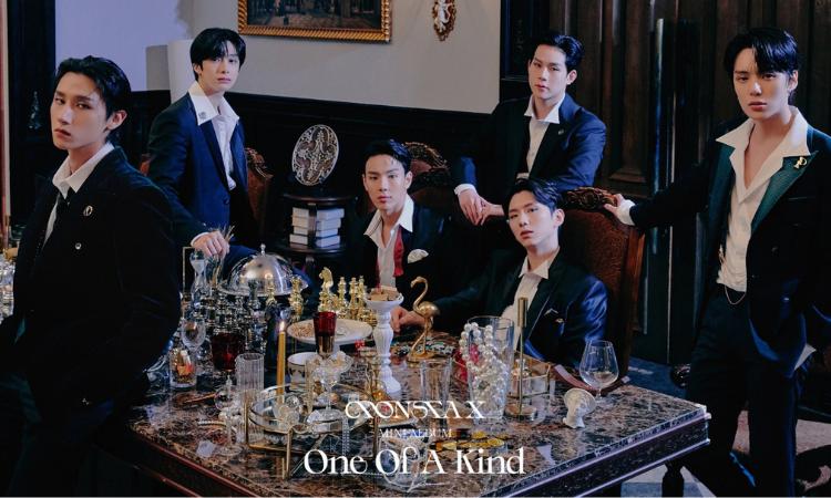MONSTA X lanza sus encantadoras fotos grupales para 'One Of A Kind'