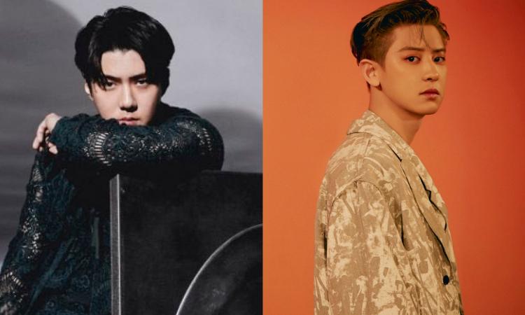 Sehun y Chanyeol de EXO destacan su gran atractivo en fotos para'Don't Fight The Feeling'