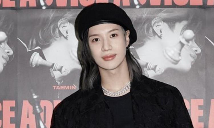 Taemin reacciona al auto de una fan que estaba promocionando su álbum 'ADVICE'