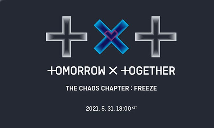 Tomorrow X Together supera las 520 mil copias anticipadas de 'The Chaos Chapter: FREEZE'