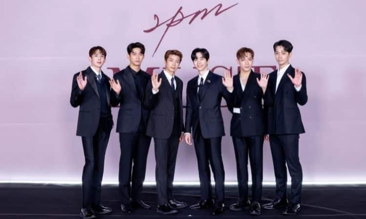 2PM en conferencia de prensa de Must