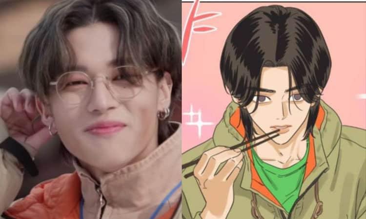 ATINY descubre un personaje de webtoon que se parece MUCHO a Wooyoung de ATEEZ