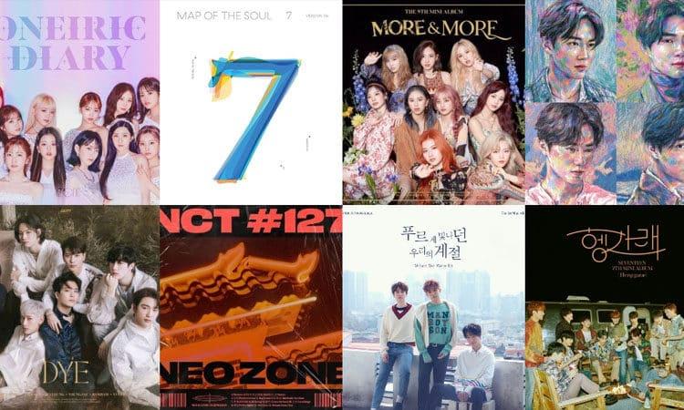 Estos son los albúmenes de kpop más vendidos en los últimos 10 años